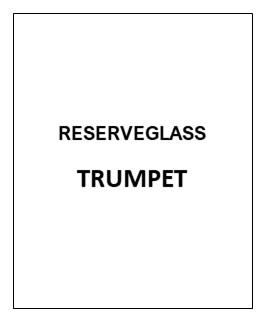 Kuppel Noral Trumpet klar