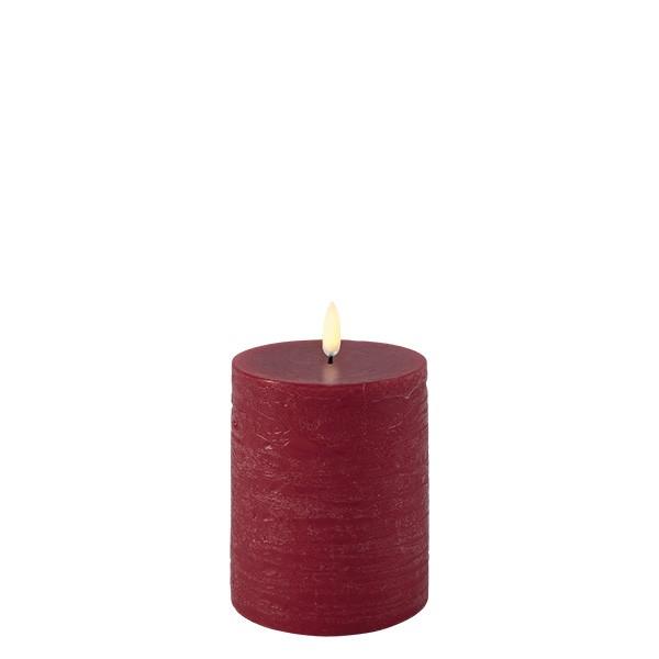 Uyuni kubbelys Rød  Ø 7,8 x10 cm