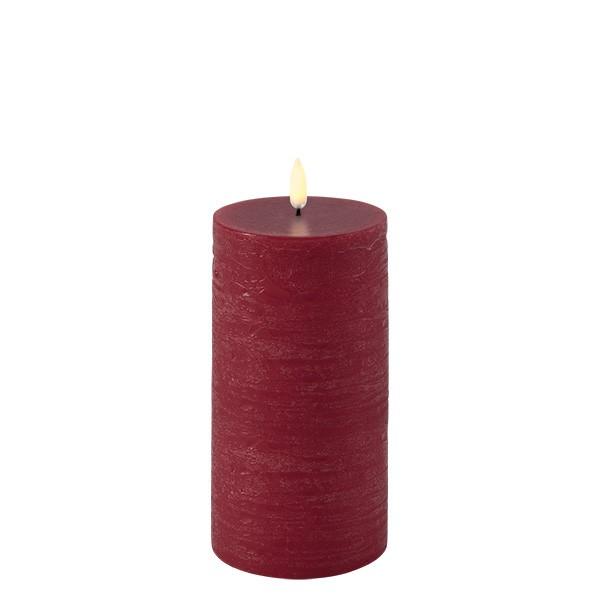 Uyuni Kubbelys Rød Ø 7,8 x 15 cm