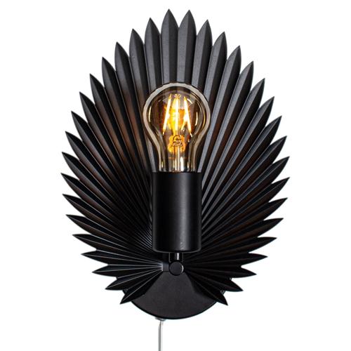 By Rydens Aruba Vegglampe Sort H30cm