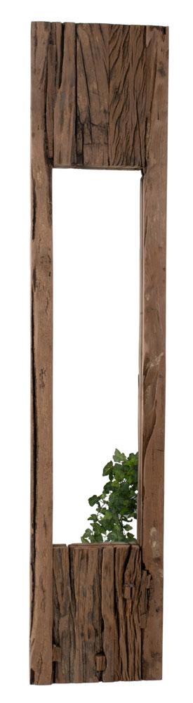 AG speil resirkulert tre 120 x 25cm