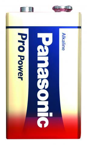 Panasonic Pro Power Batteri 9V/6LF22