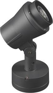 Unilamp Sonic Spotlight 6,5W GU10 2700K grafitt