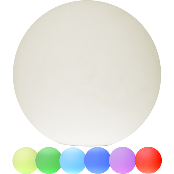 Star Twilights utendørs dekorlampe 50cm RGB m/fjer