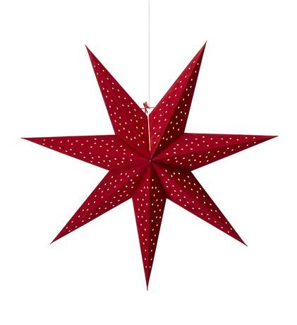 MLG Clara julestjerne rød