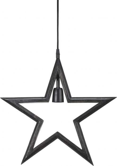 PR Farm Star Svart 45cm