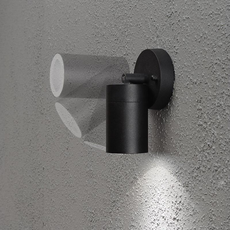 Konstsmide Modena utelampe vegg sort