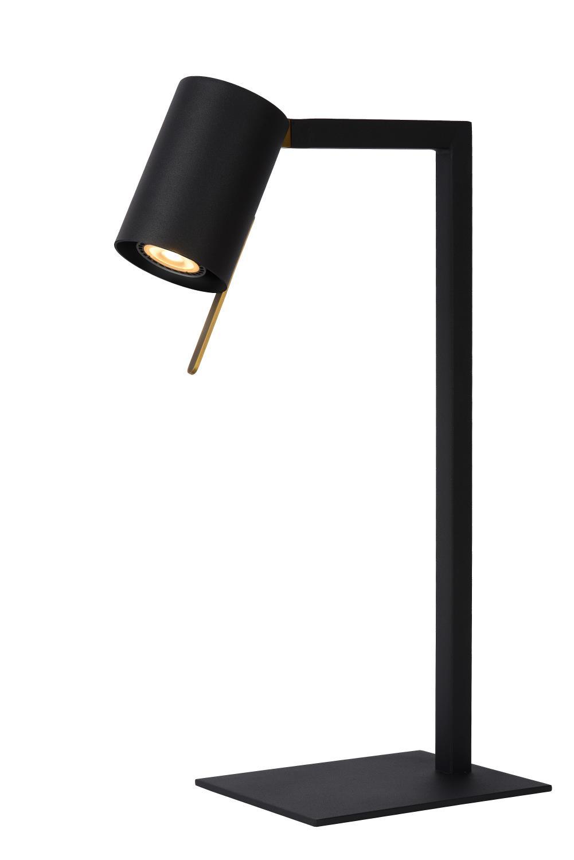 Lucide Lesley sort bordlampe Gu10