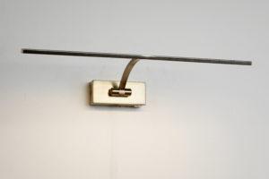 MS Monza 2 malerilampe m/dim antikmessing