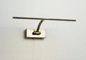 MS Monza 1 maleribelysning m/dim antikkmessing