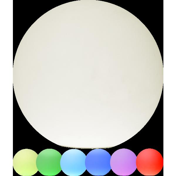 Star Twilights utendørs dekorkuler 30cm RGB m/fjer