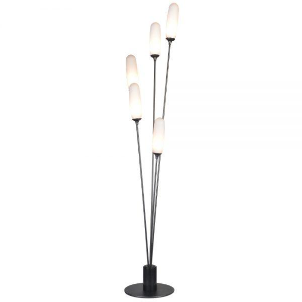 Halodesign Hvalsø gulvlampe med glass