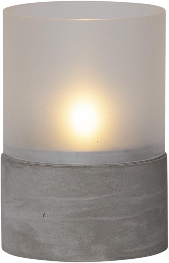 Star Cemmy lykt 15cm frost/betong