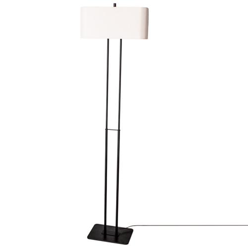 By Rydens Luton gulvlampe H150 sort/hvit