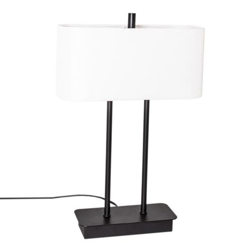 By Rydens Luton bordlampe H56 sort/hvit