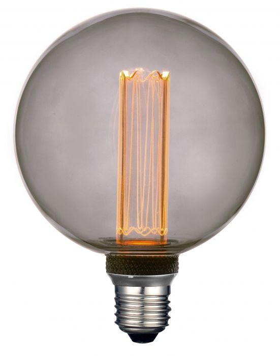 PR LED Smoky E27 Ø95mm 3,5W
