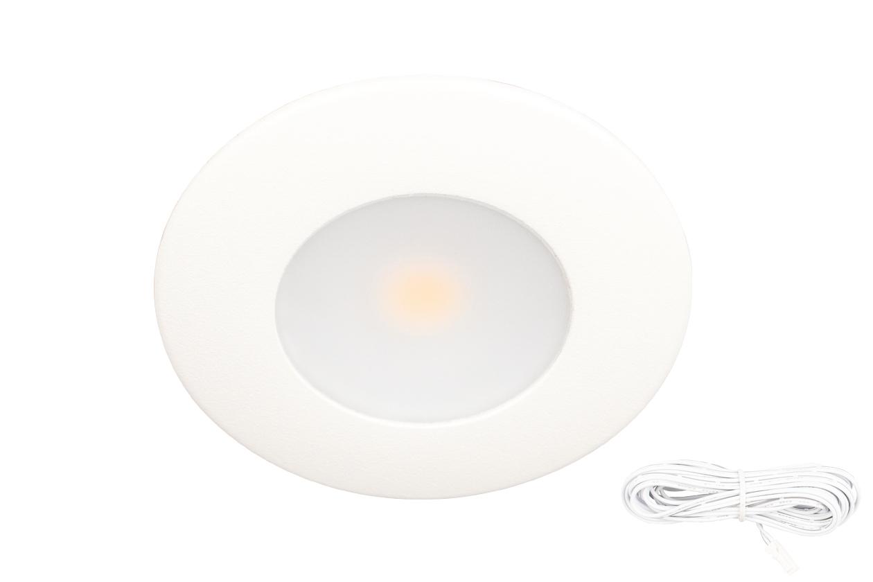 Scan Silvia LED IP44 3,2W Hvit 2700K
