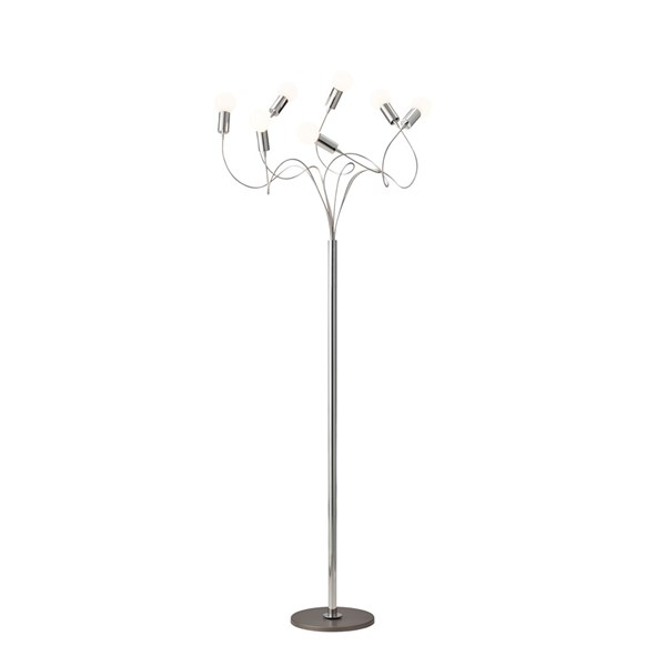 Herstal String Gulvlampe Krom (ekskl. lyskilde)