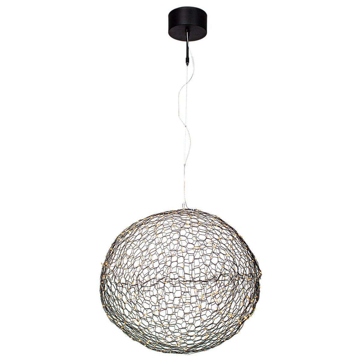 By Rydens Hayden Taklampe Sort 60cm 20W LED
