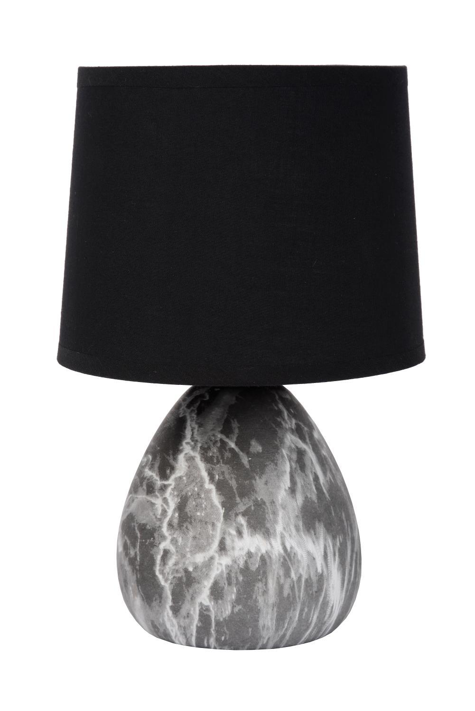 Lucide Marmo Bordlampe Sort E14