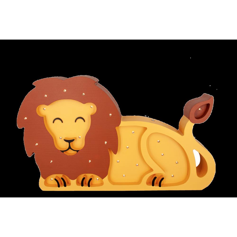 Lumimi Barnelampe Løve