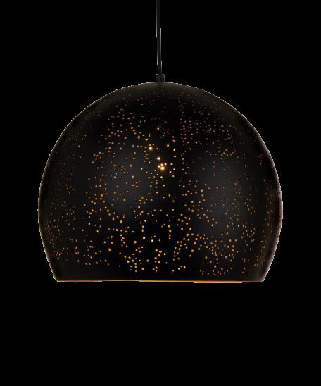 MS Mars Sort/Gull Ø35cm