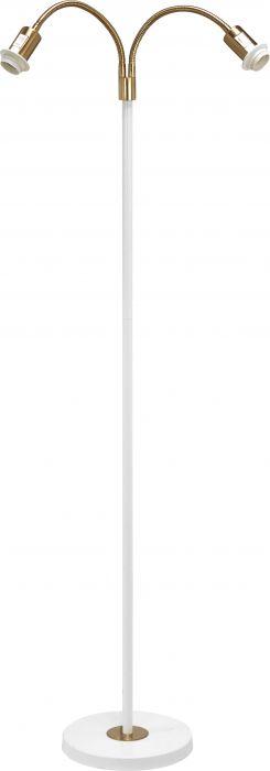 PR Cia-2 hvit/ant. u/skj 2x E27