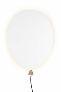Globen Balloon hvit 6W LED vegg