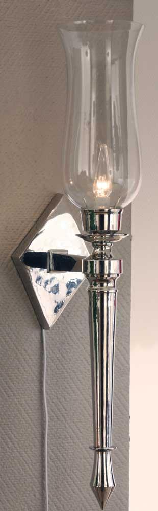 Agrossisten Silver vegglampe 76cm E27