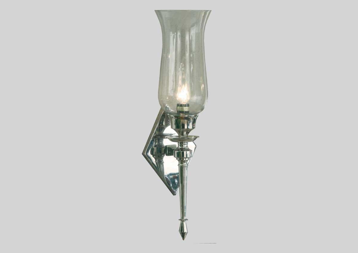 Agrossisten Silver vegglampe 50cm E14
