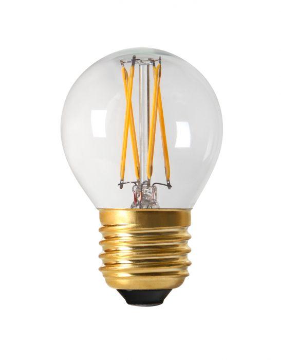 PR LED E27 3,5W krone dimbar