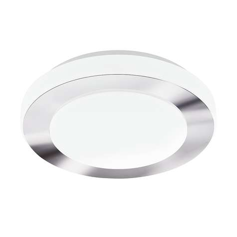 Eglo Carpi Krom/Hvit 11W LED IP44 Ø30cm 1100LM
