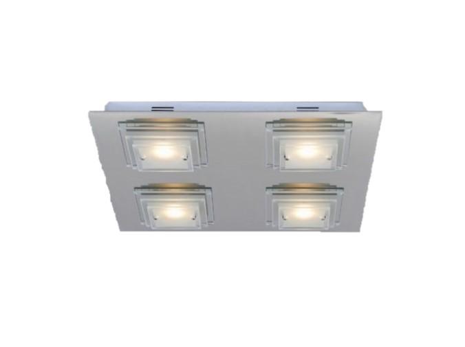 MS Gard Plafond firkant 4x5W LED Dimbar (Utstillin
