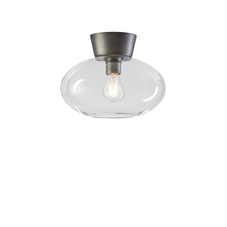 Belid Bullo Plafond Oxidgrå/Klar E27