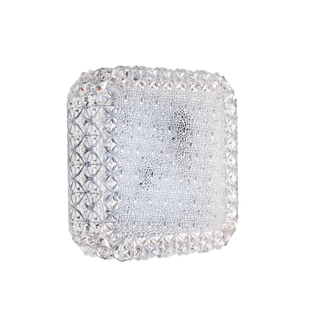 Halo Design Glitter 18x18cm Klar 7W LED
