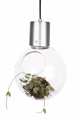 Globen Mini Hole pendel B.Stål