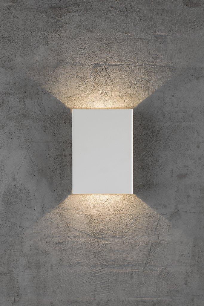 Nordlux Fold Hvit Vegg LED