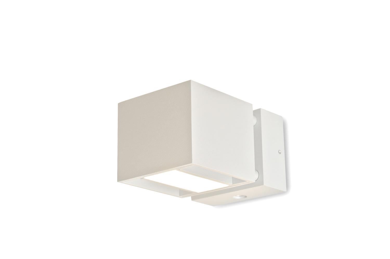 Nordesign Origo Hvit Vegg 2x3W LED Dimbar IP54
