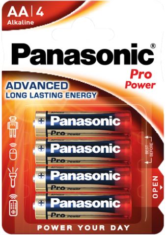 Panasonic Pro Power AA/LR6 1,5V 4pk