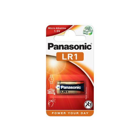 Panasonic Cell Power Batteri LR1 1,5V