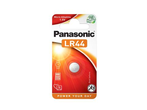 Panasonic Cell Power Batteri LR44 1,5V 1pk