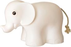 Leklyckan Elefant Hvit