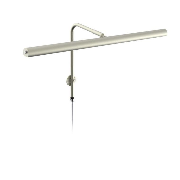 Texa Gallery 60cm Matt Nickel 2x8,4W LED  Dimbar M