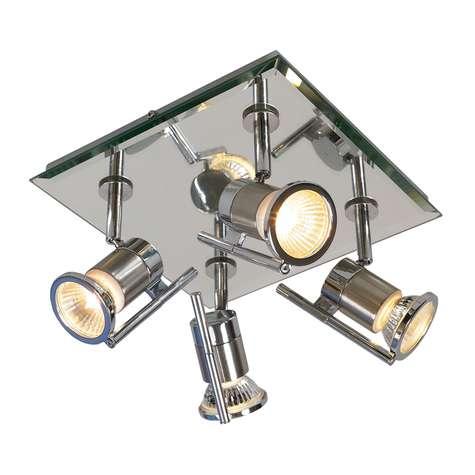 Ea Vega 4 Lys speil/krom IP44 Tak