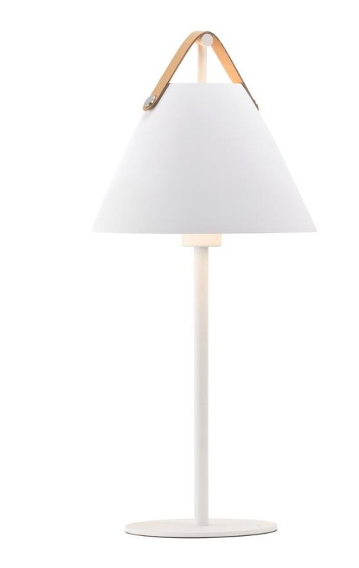 Nordlux Strap Hvit Bordlampe