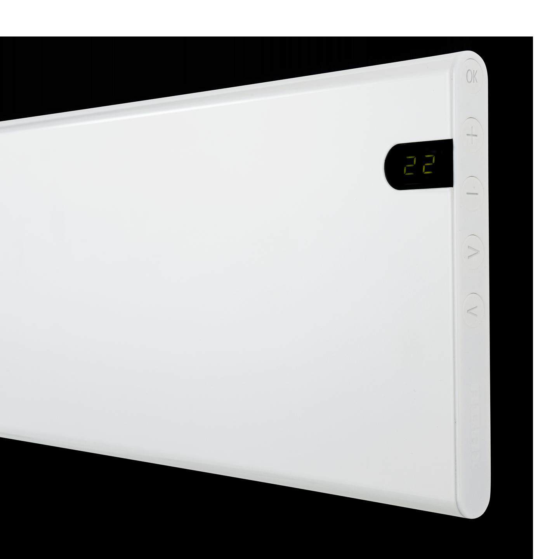 Adax Neo NP08 KDT Hvit Panelovn 800W m/elektronisk
