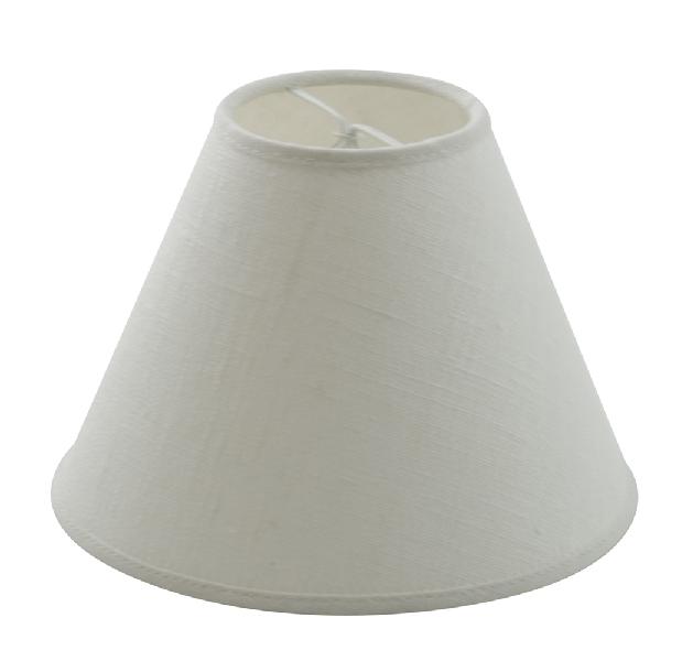 Hallbergs Skjerm Carolin 20cm hvit